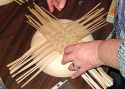 JoAnn Kelly Catsos Basketry Workshop 2007