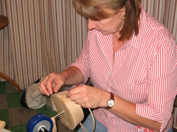 JoAnn Kelly Catsos Basketry Workshop 2010