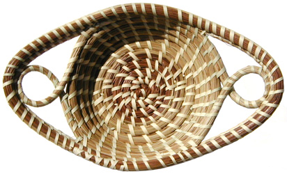 [Sweetgrass Basket]