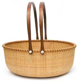 [19 in. Oval Basket]