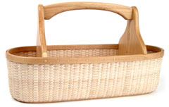 Cottage Tool Tote Basket
