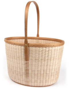 Cottage Towering Tote Basket