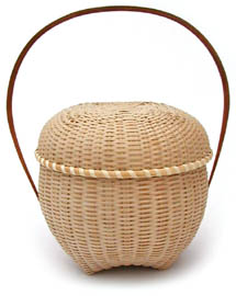 [Shaker Dome Lidded Basket]