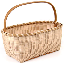 [Shaker Keepsake Basket]