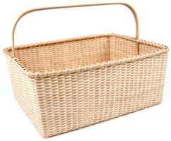 [Large Shaker Tatting Basket]